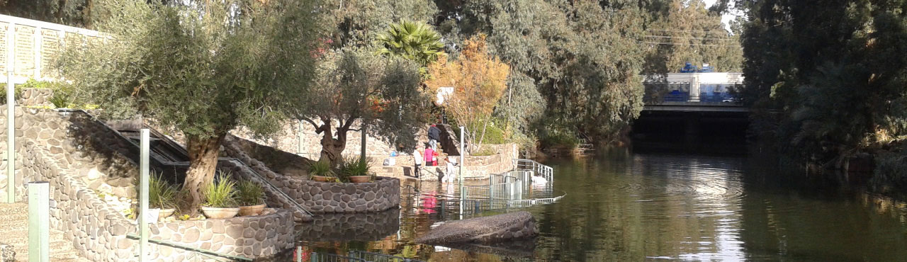 Jordan River Baptismal Site - Shore Excursions from Haifa Port