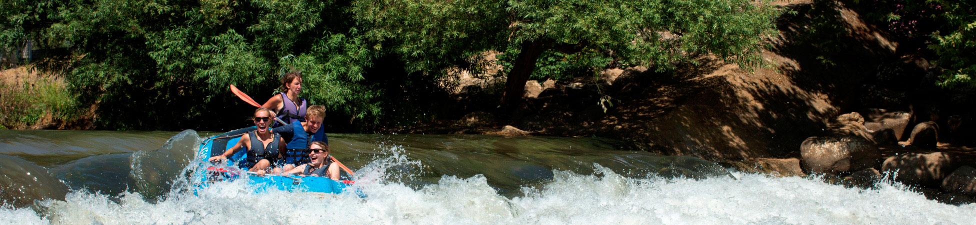 Jordan River Rafting (C) Itamar Grinberg - GoIsrael.com
