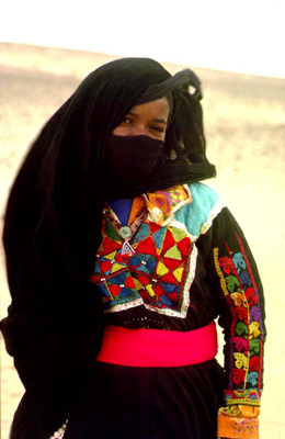 Bedouin woman- Photo (C) O. Goren/ Joe Alon Center