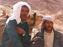 Bedouins by Mount Sinai