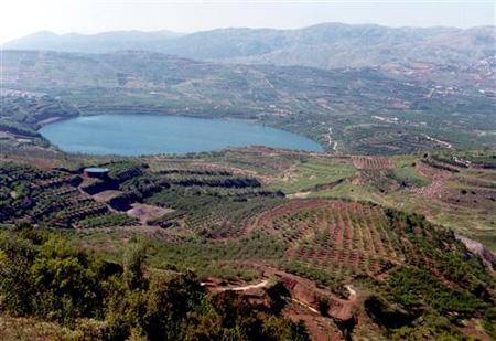 Birkat Ram Crater Lake C Goisrael