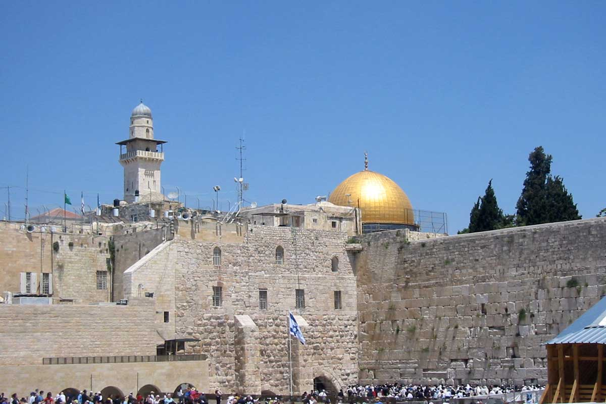 Western Wall - Kottle & Golden Dome