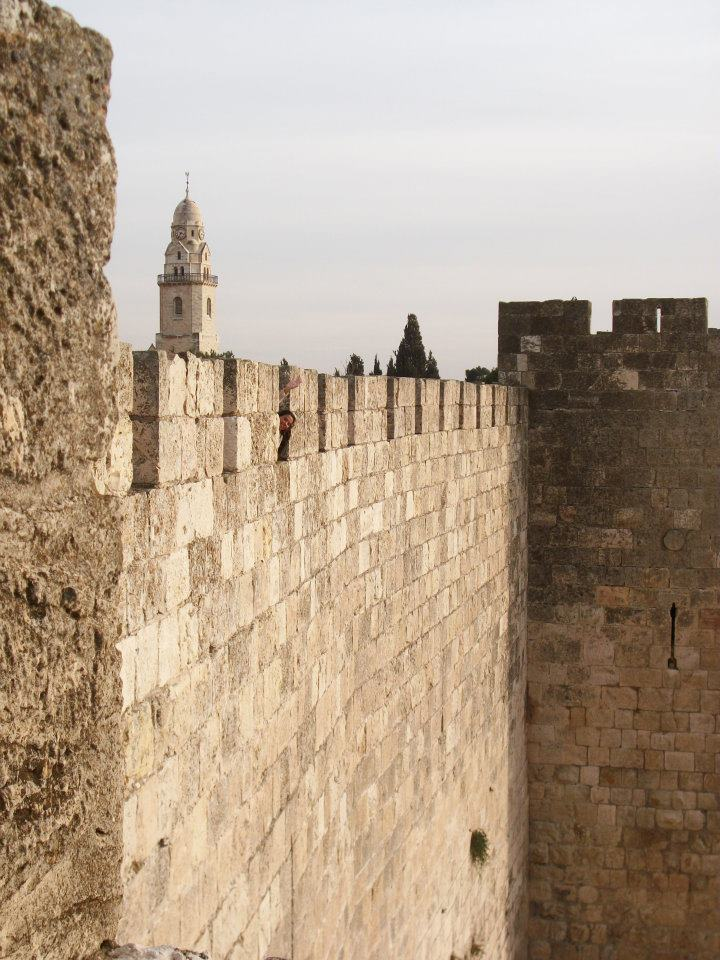 Jerusalem City Walls - Photo (C) by Pierre Zuccarelli