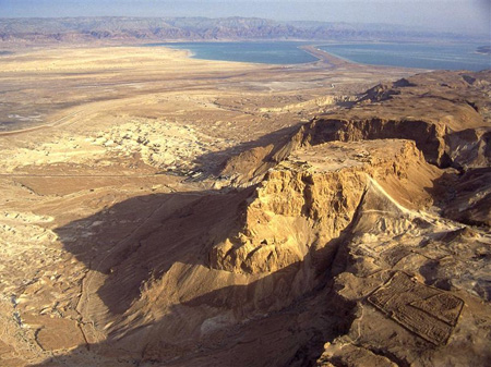 Massada by the Dead Sea (c) GoIsrael