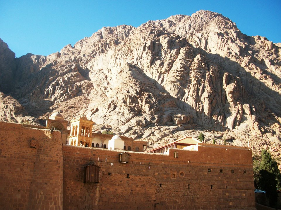 Monastery of Saint Catherine at the foot of Mount Horeb - Photo (C) by Pierre Zuccarelli