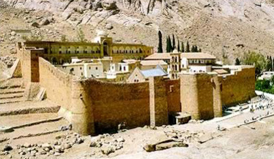 Saint Catherine Monastery - Photo by unknown